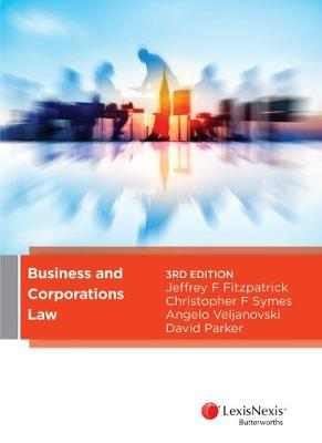 Business and Corporations Law by J Fitzpatrick