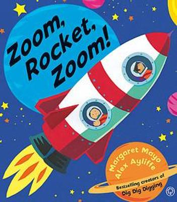 Awesome Engines: Zoom, Rocket, Zoom! by Margaret Mayo
