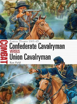 Confederate Cavalryman vs Union Cavalryman by Ron Field