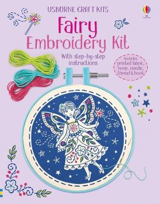 Embroidery Kit: Fairy book