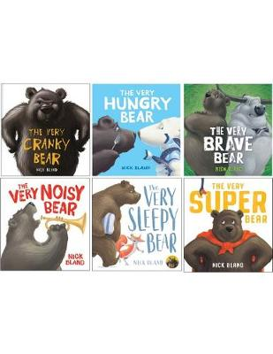 The Very Cranky Bear 6 book Boxed Set by Nick Bland