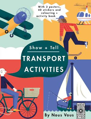 Show + Tell: Transport Activities by Nous Vous