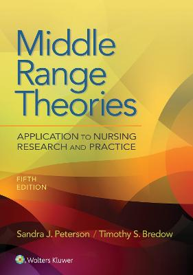 Middle Range Theories: Application to Nursing Research and Practice book
