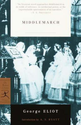 Mod Lib Middlemarch book