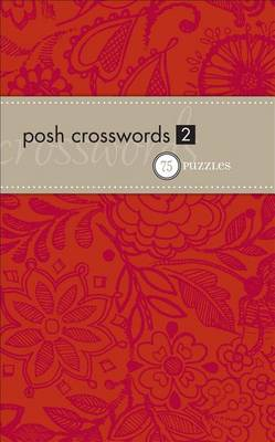 Posh Crosswords 2 book