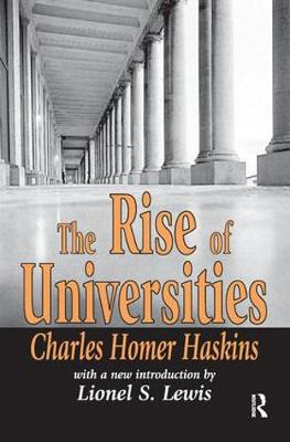 The Rise of Universities by Charles Homer Haskins
