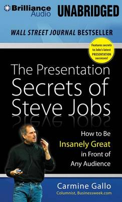 Presentation Secrets of Steve Jobs book