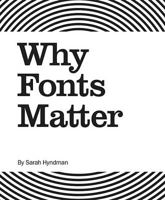Why Fonts Matter book