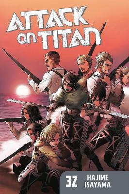 Attack on Titan 32 book