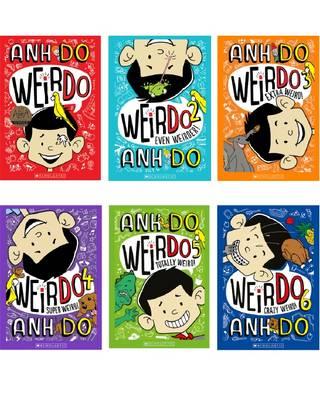 Crazy Weird Collection 1-6 book