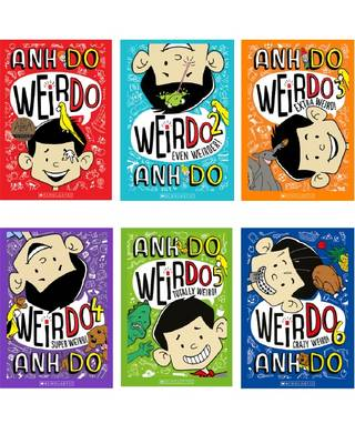 Crazy Weird Collection 1-6 by Anh Do