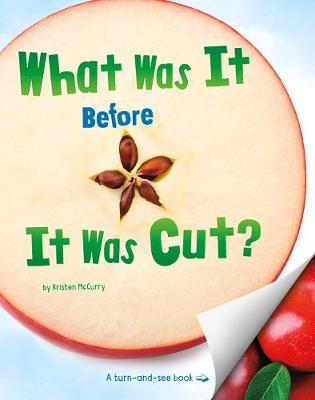 What Was It Before It Was Cut? by Kristen Mccurry