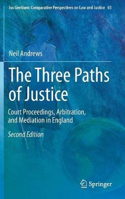 Three Paths of Justice by Neil Andrews