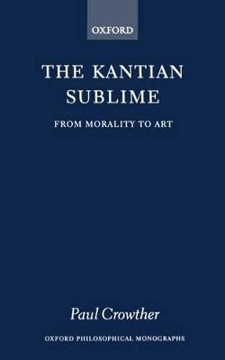 Kantian Sublime book