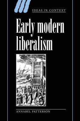 Early Modern Liberalism book