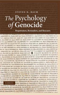 Psychology of Genocide book