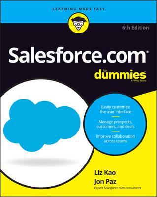 Salesforce.com For Dummies book