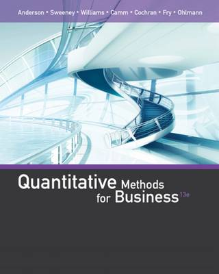 Quantitative Methods for Business by David Anderson