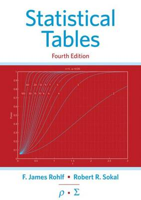 Statistical Tables by Robert R. Sokal