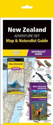 New Zealand Adventure Set: Map & Naturalist Guide by Waterford Press
