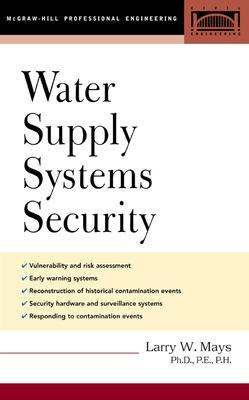 Water Supply Systems Security book