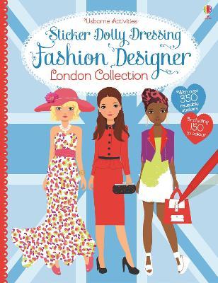 Sticker Dolly Dressing Designer London Collection by Fiona Watt