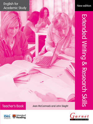 English for Academic Study: Extended Writing & Research Skills Teacher's Book - Edition 2 by