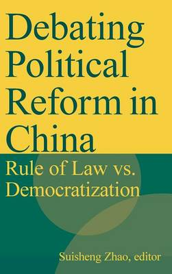 Debating Political Reform in China book