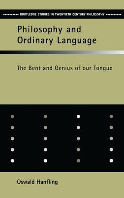 Philosophy and Ordinary Language book