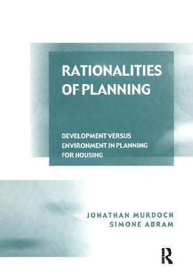 Rationalities of Planning book