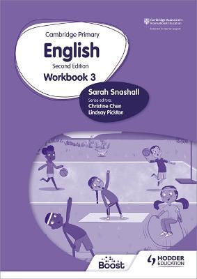 Cambridge Primary English Workbook 3 by Sarah Snashall