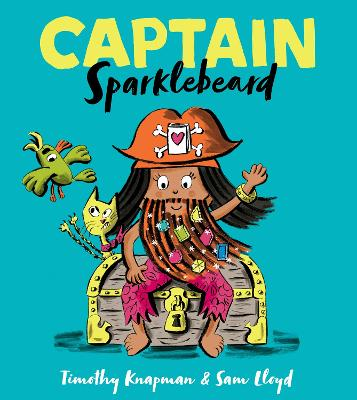 Captain Sparklebeard by Timothy Knapman