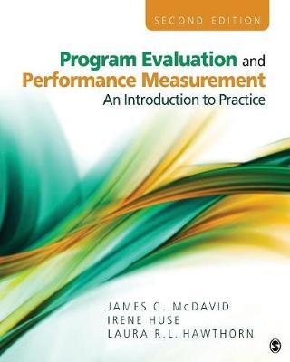 Program Evaluation and Performance Measurement by James C. McDavid