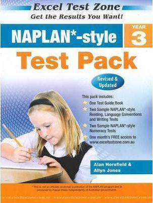 NAPLAN-style Test Pack - Year 3 by Alan Horsfield