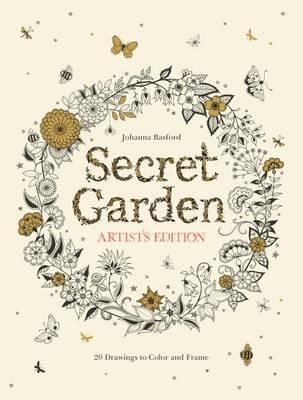 Secret Garden Artist's Edition by Johanna Basford