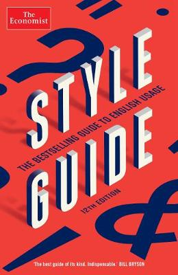 Economist Style Guide book