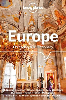 Lonely Planet Europe Phrasebook & Dictionary book