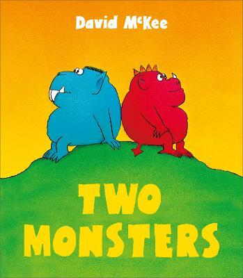 Two Monsters book