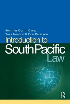 Introduction to South Pacific Law by Jennifer Corrin-Care