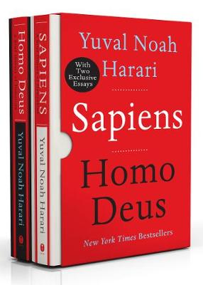 Sapiens/Homo Deus Box Set by Yuval Noah Harari