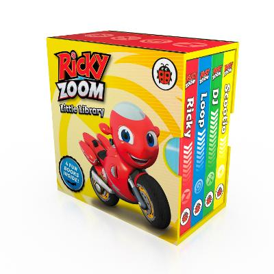 Ricky Zoom Little Library book