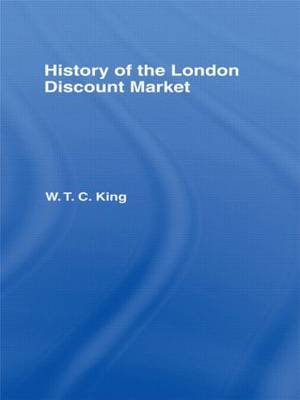 History of the London Discount Market book