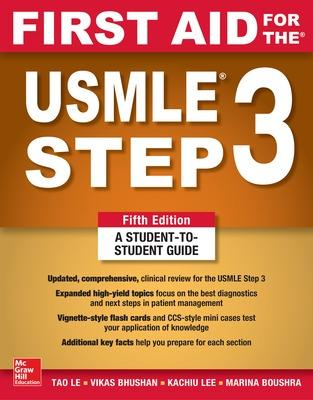 First Aid for the USMLE Step 3, Fifth Edition book
