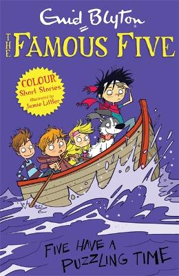 Famous Five Colour Short Stories: Five Have a Puzzling Time by Enid Blyton