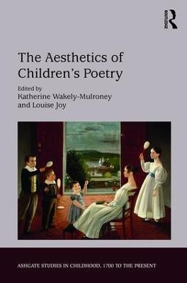 Aesthetics of Children's Poetry book