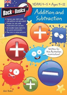 Bk Basics Add and Sub Yr 4 - 5 book