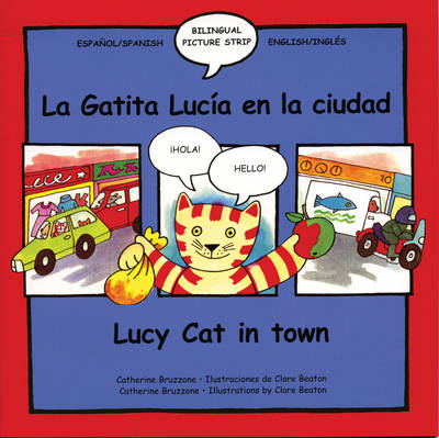 Lucy Cat in Town by Catherine Bruzzone