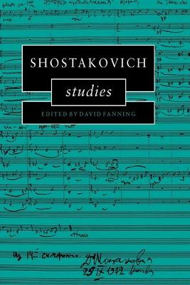 Shostakovich Studies book