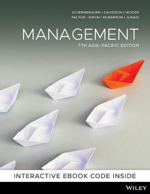 Management by John R. Schermerhorn