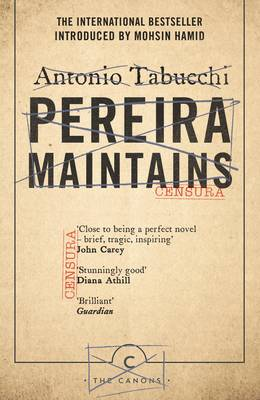 Pereira Maintains by Antonio Tabucchi